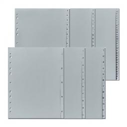 Divider Herlitz 230X297Mm Plastic Numerical 1-10 Grey 10841252