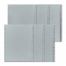 Divider Herlitz 230X297Mm Plastic Numerical 1-12 Grey 10843407