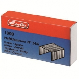 STAPLES 24/06 HERLITZ 1000PCS 08760514