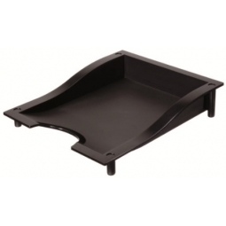 LETTER TRAY HERLITZ A4 BLACK LINE 1606003