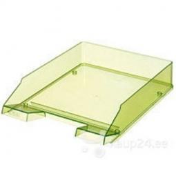 Letter Tray Herlitz A4 Transparent Light Green 10778421