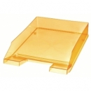 Letter Tray Herlitz A4 Transparent Yellow 10778439
