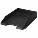 Letter Tray Herlitz A4 Classic Black 64030