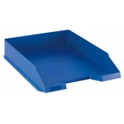 Letter Tray Herlitz A4 Classic Blue 64014