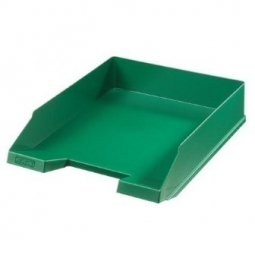 Letter Tray Herlitz A4 Classic Green 00064055