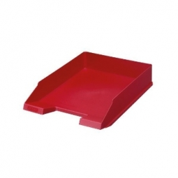 Letter Tray Herlitz A4 Classic Red 64006