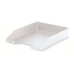 LETTER TRAY HERLITZ A4 CLASSIC WHITE 64048