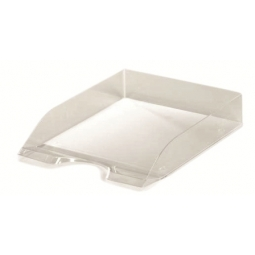 LETTER TRAY HERLITZ A4 CLASSIC TRANSLUCENT SMOKE 09923210
