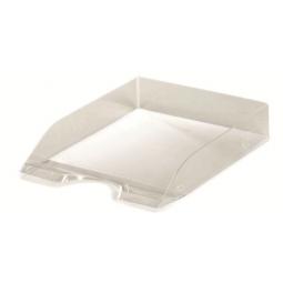 Letter Tray Herlitz A4 Classic Translucent Smoke 09923210