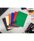 Notebook Comix Compera A5 Ruled 50Sh Pp Soft Red C7001T