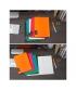 Notebook Comix Compera A5 Ruled 50Sh Pp Soft Black C7001T