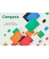 Notebook Comix Compera A5 Ruled 50Sh Pp Soft Green C7001T