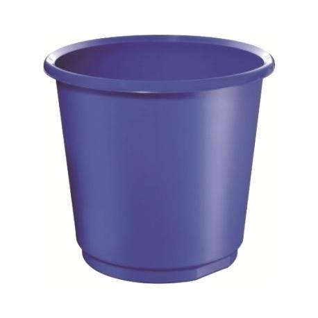 Waste Basket Herlitz 18 Liter Round Blue 11279213