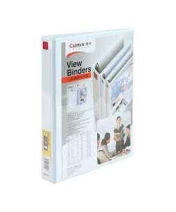 Ring Binder Comix A4 2 Rings 1 25Mm White A212