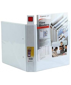 Ring Binder Comix A4 4 Rings 2.5 65Mm White A239