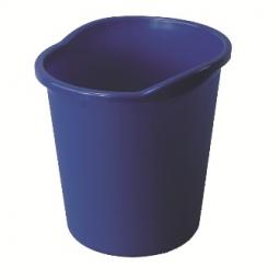 WASTE BASKET HERLITZ W/ GRIP 13 L BLUE 01608959