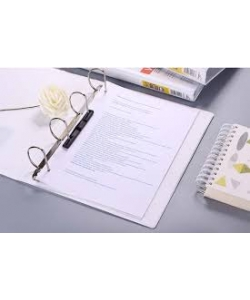 Ring Binder Comix A4 4 Rings 0.5 16Mm White A211