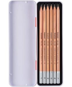 Pencil Bruynzeel Expression Graphite 6/Pack 60311006