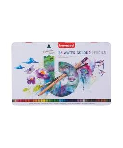 Colored Pencil Aquarelle Bruynzeel Expression 36/Pack 60313036
