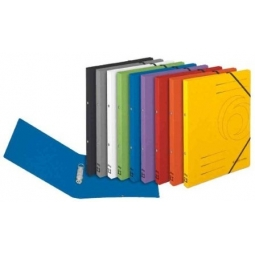 Ring File Herlitz A4 Colorspan W/Elastic Red 11255460