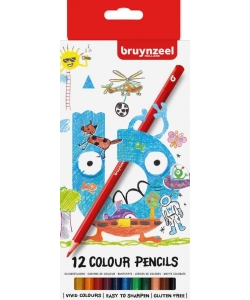 Colored Pencil Bruynzeel 12/Pack 60112002
