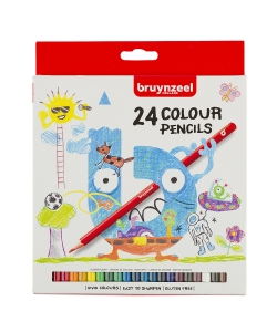 Colored Pencil Bruynzeel 24/Pack 60112003