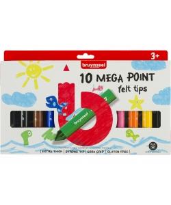 Marker Bruynzeel Megapoint 10/Pack 60122002