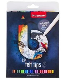 Marker Bruynzeel 12/Pack Dark 60224012
