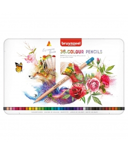 Colored Pencil Bruynzeel Expression 36/Pack 60312036