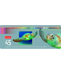 Colored Pencil Bruynzeel 45/Pack Parrot Tin 60312903