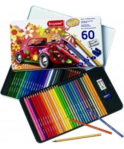 Colored Pencil Bruynzeel 60/Pack Beetle Tin 60312904