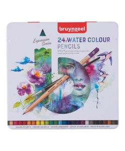 Colored Pencil Aquarelle Bruynzeel Expression 24/Pack 60313024