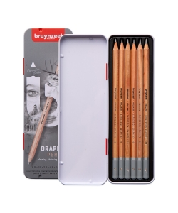 Pencil Bruynzeel Hb Graphite 6/Pack Tin 60211006