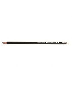 Pencil Bruynzeel Hb 12/Pack With Eraser 60211012