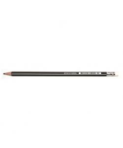 Pencil Bruynzeel Hb 12/Pack With Eraser 60211012
