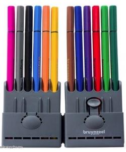 Fineliner Bruynzeel 12/Pack 60241012