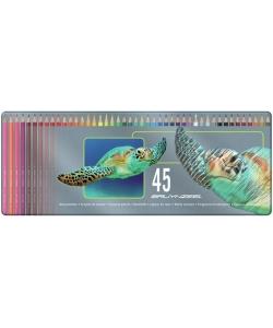 Colored Pencil Bruynzeel Tin 45 Turtle 5011M45