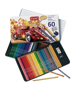 Colored Pencil Bruynzeel Tin 60 Beetle 6062M60