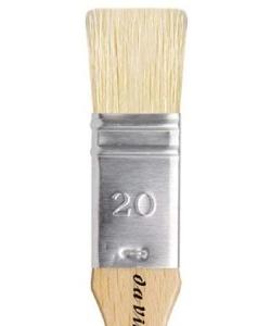 Davinci Mottler Lacquering Brushes Light Bristles 2410 . Size 20