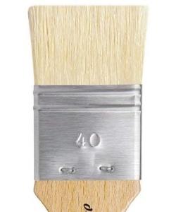 Davinci Mottler Lacquering Brushes Light Bristles 2410 . Size 40