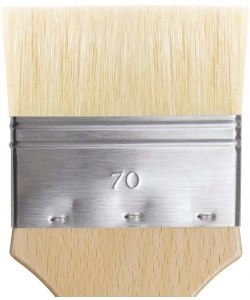 Davinci Mottler Lacquering Brushes Light Bristles 2410 . Size 70