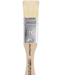 DaVinci Mottler White Chinese Bristles 2470 . Size 20