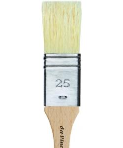 Davinci Mottler Chinese Bristles Plainwood Handles 2476 . Size 25