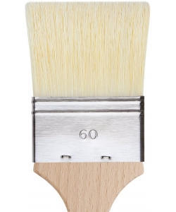 Davinci Mottler Chinese Bristles Plainwood Handles 2476 . Size 60