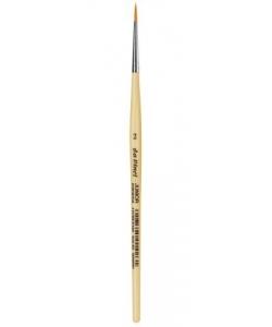 Davinci Brush Round White Bristle 128 2