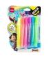 Deli Glitter Glue 6/Pack 12ml Neon Ea71301