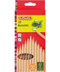 Colored Pencil Herlitz Natural Wood 8660086