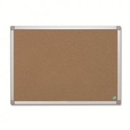 CORK BOARD DOUBLE SIDE PRACTICAL 30X045 CM CBP ALUM.FR