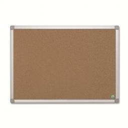 Cork Bulletin Board Double Side Practical 45X060 Cm Cbp Alum.Fr
