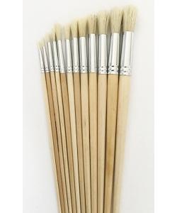 Brush Colour Magus Round Bristle Hair 12/Pack 582